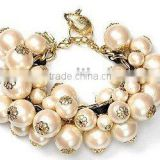 2014Fashion pearl bead bracelet/jewelry