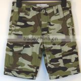 summer camo cargo bermuda shorts for boys