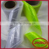 Clear Reflective Tape ,Lattice shape PVC reflective tape for safety vest,reflective tape for clothing