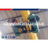 Small Portable electric hoist wire rope pulley hoist with ISO9001 , BV Certification