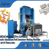 Complete Aluminium Foil Plate Making Machine