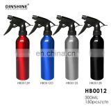 new product pump aluminum refillable plastic trigger spray aluminum spray bottle for salon