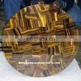 Tiger Eye Semi Precious Table Tops