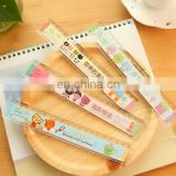 Pretty personalized promotional plastic school ruler