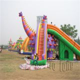 commercial outdoor giant inflatable slide, inflatable stair slide toys for kids