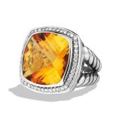 David Yurman  Women  925 Sterling Silver 17mm Citrine Albion Ring