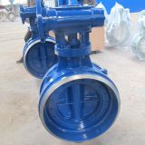 welding end triple offset butterfly valve with metal seated