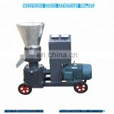 Small size flat die Bamboo pellet machine/ sea straw pellet machine/plants stalk pellet machine