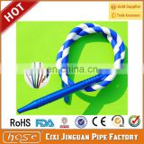 Food-grade Soft Flexible Shisha Hookah Silicone Tube, FDA silicone Shisha Hookah Hose Pipes