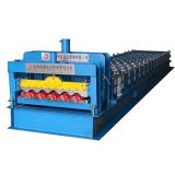 Kenya hot design 660mm Color steel glazed tile roll forming machine