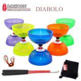 YOYO Toys Professional Diabolo Set Packing 3 Bearing Kongzhu 3 Size 6 Color for choose with String Bag