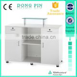 hot sale beauty salon equipment .fashion design check out counter .reception desk