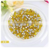 2016 new more facets hotfix stones flat back hot fix rhinestone with strong glue for iron on heat transfer