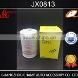 Professional supplier wholesale generator parts JX0813 oil filter paper in auto oil filters