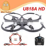 Minitudou U848AHD Udi Toy New Dron 2.4G 6-axis HD Camera Quadcopter Sky Walker RC Drone Helicopter