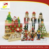 Traditional Christmas Gift Nutcracker Smokingman Pyramid Christmas Tree Music Box