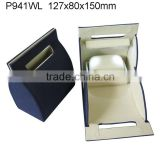 Top luxury Microfiber LED Light Watch Jewelry Handle Box