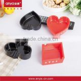 D537 Factory directly supplier melamine ashtray promotion item custom ashtray with reasonable price