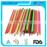 Wholesales disposable coloful plastic drinking straw
