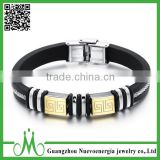Top quality charms fitness bracelet silicone material                                                                         Quality Choice