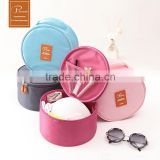 New design round travel underwear bag/cosmetic makeup bag/toiletry bag