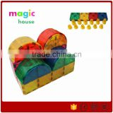 magnetic construction toy magnetic building blocks set magnetic toys magformers OEM factory 100pcs
