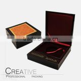 High quality factory wooden packaging box for gold coin