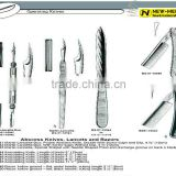 All Kinds Of Operating Knives Surgical Instruments Surgical Operating knives All Kinds Of Operating Knives
