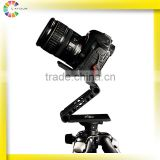 china factory ZD-Y20 adjustable stabilized camera mount on the tripod aluminum outdoor cctv pan/tilt camera rotator