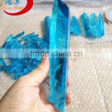 Wholesale blue Healing Natural Aura Quartz Points, Spirit Quartz Points, Hybrid Crystal Points