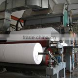 5T/D Waste Paper and wood Pulp Recycling Jumbo Roll Toilet Tissue Paper Roll Making Machine