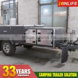 Off Road Camper Tent Trailer Stainless Steel Kitchen Kindle