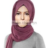 Womens Lightweight Girls Cotton Jersey Hijab Scarf