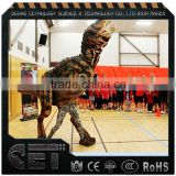 Velociraptor Realistic Costume Walking With Dinosaur                                                                         Quality Choice