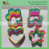 Magic Plastic Butterfly Shape Rainbow Spring Toys