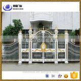 Beautiful wrought aluminum gate designs for home