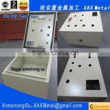XAX25DB XAX Metal fabrication Manufacturer lift wheel removable side panel adjustable rack metal 3 phase distribution panel box