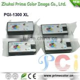 2015 New products Compatible Ink Cartridge PGI-1300 XL with Dye/pigment ink for Japan Market