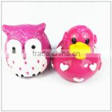 Duck and Owl empty safety plastic lipstick tube/factory create my own logo design lipstick packaging box