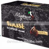 Kosher Original Italy Mixpresso CLASSE Espresso 50 coffee capsules compatible for Nespresso machine
