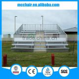 MC-8F aluminium school bench sports grandstand metal bleacher aluminum bleachers seating aluminum rostrum