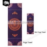 Amazon best sellers exercise mini yoga towel with Antibacterial and 100% recycled fabric