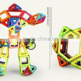 hot sell 20 pcs magnetic building block set ,magnetic sheet toy