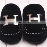 handsome newborn boy shoes black shoes for baby boy