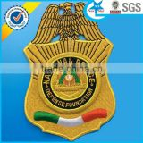 High quality twill background embroidery badge