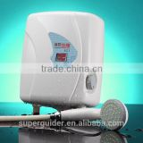 Tankless salon shower electric water heater geyser