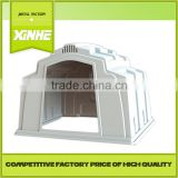 Factory Price of best quality House and open-air cage for calfs / Greenhouse Poultry Equipment Calf Hutch