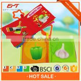 Eco friendly baby fabric cloth book for sale