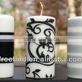 Decorative Craft Pillar Candle