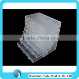 manufacture good quality acrylic medicine cabinet acrylic plastic medication trays wholesale cheap